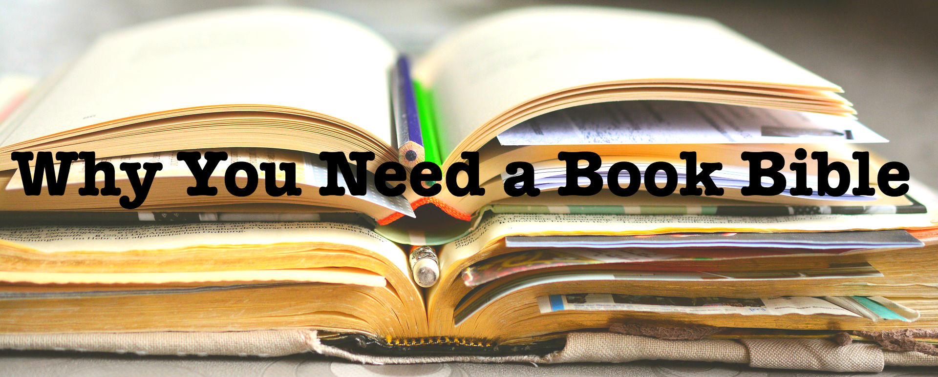 Why You Need a Book Bible For Your Novel